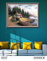 DIY Digital Oil Painting  Large Size Without Frame  Family Fun Painting All By Myself     Seaview Room 6037