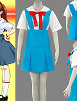 Cosplay Vigour Neon Genesis Evangelion Women's School Uniform Cosplay Costume
