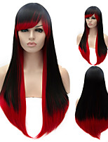grande onda menina perucas de cabelo da moda de alta qualidade do fio de alta temperatura europeus e americanos necessário