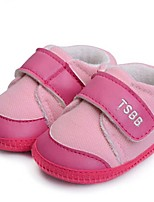 Baby Shoes Casual Fabric Fashion Sneakers Pink/Orange