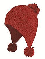 Kenmont Purity Big Ball Women Winter Iceland Handmade Knit Hat 1221