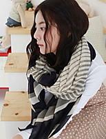 Wave Thin Fabric Soft Stripe pattern Scarf Shawl