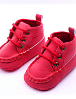 Baby Shoes Casual  Boots Brown/Red/White