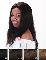 7A Grade 10''-24'' Natural Straight 100% Brazilian Virgin Human Hair Wigs Full Lace Wigs With Baby Hair For Blacek Women