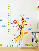 Wall Stickers Wall Decals, Cartoon Christmas Giraffe PVC Wall Sticker