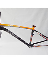 MB-NT02+FK-NT19 Neasty Brand  Full Carbon Fiber Orange Color Decal 26er MTB Frame and Fork 15