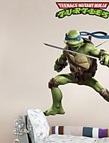 Wall Stickers Wall Decals, Cool Teenage Mutant Ninja Turtles PVC Wall Sticker