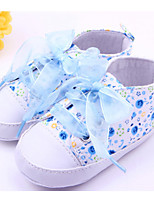 Baby Shoes Casual Fabric Fashion Sneakers Blue/Pink/Purple