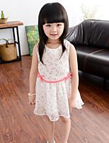 Girl Cherry Chiffon Princess Dress