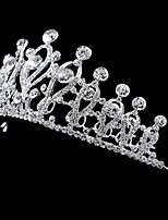 Women/Flower Girl Bridal Rhinestone Crystal Cown Tiaras With Wedding/Party Headpiece Queen Stlye