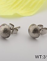 Woman's Wedding Stainless Steel Earring