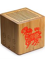 Portable Wireless Bamboo Bluetooth Speaker