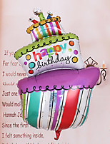 Crocked Cake Shape Helium Balloons for Birthday Party