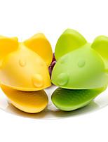 siliconen muis vormige oven bakken wanten hittebestendige handschoen bbq keuken koken (willekeurige kleur)