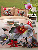 Multi Color Polyester/Poly/Cotton King Duvet Cover Sets