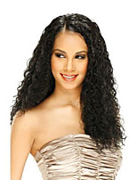 In Stock 10-30inch U Part Wig Curly With Baby Hair Lace Front Wig 100% Brazilian Human Hair