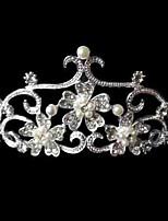 Alloy/Imitation Pearl/Rhinestone Tiaras Wedding/Party/Daily Headpieces/Hairjewelry 1pc