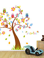 Wall Stickers Wall Decals Style Owl Super Large Tree PVC Wall Stickers