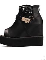Women's Shoes Platform Wedges Sandals Outdoor Black