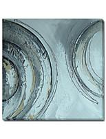 impresión de la lona estirada abstracta con galería táctil mano envolver listo para colgar