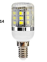 E14/E26/E27 3 W 27 SMD 5050 350 LM Warm White/Cool White Dimmable Corn Bulbs AC 110-130/AC 220-240 V