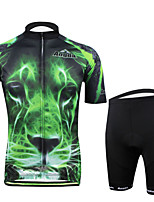Cycling Bike Short Sleeve Clothing Set Bicycle Men Wear Suit Jersey Pants Shorts