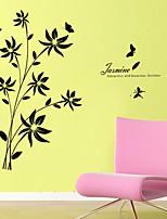 adesivos de parede do estilo adesivos de parede parede adesivos jasmim pvc
