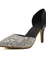 Women's Shoes Stiletto Heel Heels/Pointed Toe Pumps/Heels Casual Black
