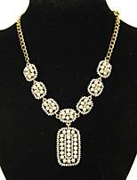 Women's Elegant Party Retro Pearl Necklaces