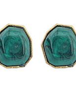 Women's Fine Fashion Simple Sweet Luxury Stud Earrings With Rhinestone