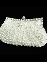 Handbag Imitation Pearl Evening Handbags With Imitation Pearl