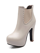 Women's Shoes    Heels / Platform / Fashion Boots Boots Outdoor / Office & Career / Casual Chunky Heel  &H-2