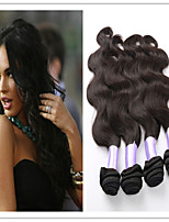 3Pcs/Lot Brazilian Body Wave Hair 100% Virgin Human Hair Weft Weave On Sale