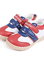 Baby Shoes Casual Tulle Fashion Sneakers Red/Tan
