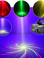 Remote-Club-Bar rg Laser blaue LED Stadiumsbeleuchtung-DJ home party volle Show Lichtfarbe einstellbar Berufs