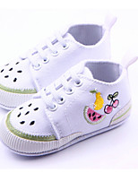 Baby Shoes Casual Fabric Fashion Sneakers Purple/Red/White
