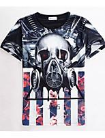 Heren - T-shirt - Informeel/Werk/Sport - Korte mouw