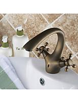 Brass Brand New Antique Bathroom Vessel Sink Faucet Mixer Good Torneira Banheiro Basin Faucets