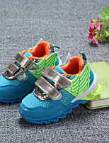 Children Shoes Outdoor/Casual Tulle Fashion Sneakers Blue/Red
