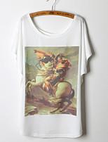 2015 Fashion Women Summer Printing T-shirt Top Tee