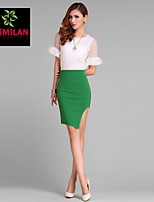 YIMILAN® Women's The New 2015 Pencil Skirt Sexy Hip Skirts