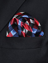 Men's Business Checked Multicolor  Hanky