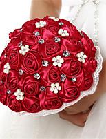 Buquês ( Borgonha , Cetim ) - de Rosas