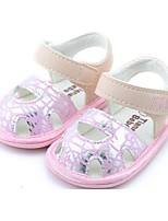 Baby Shoes Casual Sandals Pink/Silver