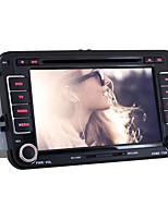 For Passat/Golf/Skoka Car DVD Player Quad-Core Android4.4 2 Din 7 inch 1024 x 600 Built-in WIFI/GPS