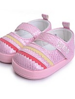 Baby Shoes Casual Flats Pink/Silver