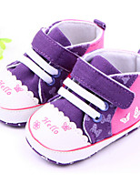 Baby Shoes Casual Canvas Fashion Sneakers Purple