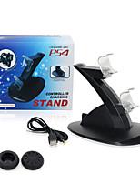 Batteries et chargeurs - PS4/Sony PS4 - Rechargeable - USB - en Plastique #