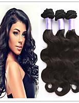3Pcs/Lot 100% Brazilian Human Virgin Hair Extension Weaves Body Wave