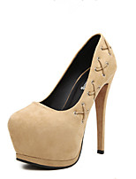 Women's Shoes  Stiletto Heel Heels Pumps/Heels Outdoor Blue/Khaki